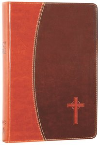 NKJV Gift Bible Dark Brown/Brown (Red Letter Edition)