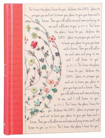 Hardcover Journal: I Know the Plans.... (Large)