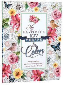 Coloring Book My Favorite KJV Verses (Adult Coloring Books Series)