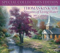 2017 Thomas Kinkade Streams of Living Water Deluxe Wall Calendar