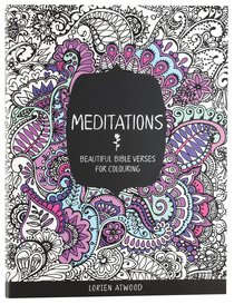 Meditations (Adult Coloring Books Series)