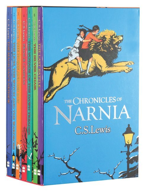 Buy The Chronicles Of Narnia 7 Volume Boxed Set Chronicles Of