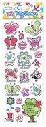 Puffy Stickers: Butterflies Series (1 Sheet Per Pack)