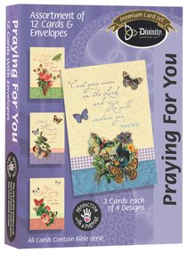 Boxed Cards Praying For You: Butterflies