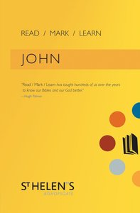John (Read Mark Learn Series)