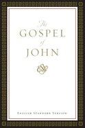 ESV Gospel of John (Black Letter Edition)