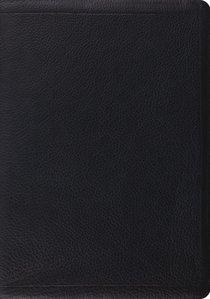 ESV Study Bible Premium Calfskin Black (Black Letter Edition)