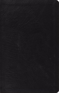 ESV Large Print Thinline Reference Bible Black (Black Letter Edition)