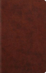 ESV Large Print Personal Size Bible Chestnut Red Letter Edition
