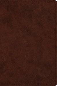 ESV Compact Bible Trutone, Brown (Black Letter Edition)