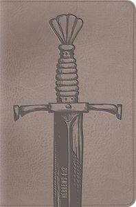 ESV Compact Bible Trutone Silver Sword (Black Letter Edition)