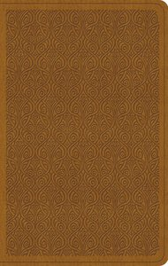 ESV Value Thinline Bible Trutone Goldenrod Vine Design (Black Letter Edition)