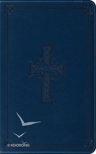 esv thinline bible trutone cordovan saddle crossstitch design