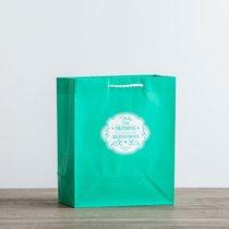 Value Gift Bag Medium: Emerald (Proverbs 28:20 Nrsv)