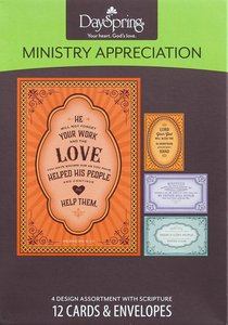Boxed Cards: Ministry Appreciation