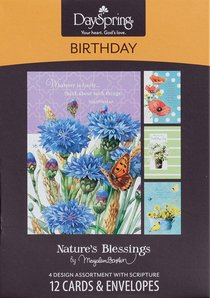 Boxed Cards Birthday: Natures Blessings By Marjolein Bastin