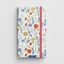 2017 Premium Pocket Weekly Planner: Floral