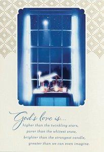 Christmas Boxed Cards: Gods Love (Eph 3:18 Niv)