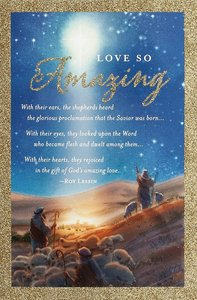 Christmas Premium Boxed Cards: Love So Amazing, Messiah (Luke 2:11 Kjv)