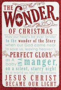 Christmas Boxed Cards: The Wonder of Christmas (Matthew 1:21 Niv)