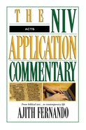 Acts (Niv Application Commentary Series)