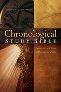 NKJV Chronological Study Bible Burgundy