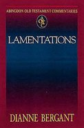 Abingdon Old Testament Commentaries | Lamentations (Abingdon Old Testament Commentaries Series)