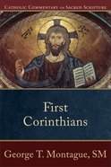 First Corinthians (Catholic Commentary On Sacred Scripture Series)