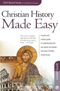 Christian History Made Easy (Leader Guide) (Rose Bible Basics Series)