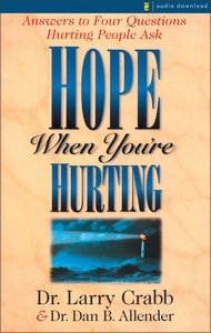 Hope When Youre Hurting (Large Print)