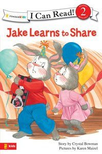 Jake Learns to Share (I Can Read!2/jake Series)