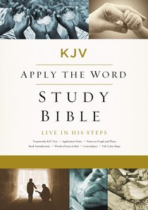 KJV, Apply the Word Study Bible, Ebook, Red Letter Edition