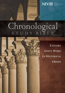 The NIV Chronological Study Bible