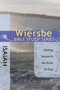 Isaiah (Wiersbe Bible Study Series)