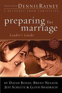 Preparing For Marriage Leaders Guide
