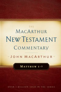 Matthew 01-07 (Macarthur New Testament Commentary Series)