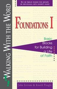 Foundations I