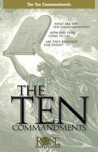 Ten Commandments (Rose Guide Series)
