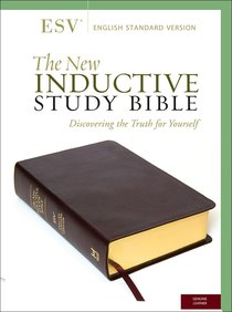 ESV New Inductive Study Bible Burgundy