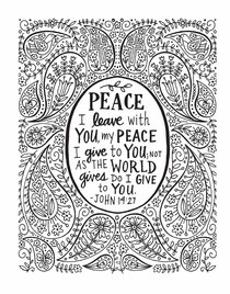 Color the Bible Volume #02 (Adult Coloring Books Series)