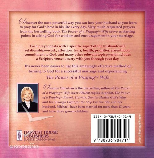 Prayer Cards: The Power of a Praying Wife