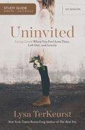 Uninvited: (Study Guide)