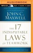 The 17 Indisputable Laws Of Teamwork (Unabridged, MP3)