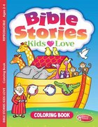 Bible Stories Kids Love (Ages 2-4, Reproducible) (Warner Press Colouring/activity Under 5s Series)