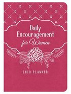 2018 Planner: Daily Encouragement For Women