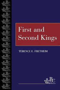 First and Second Kings (Westminster Bible Companion Series)