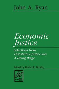 Economic Justice (Library Of Theological Ethics Series)