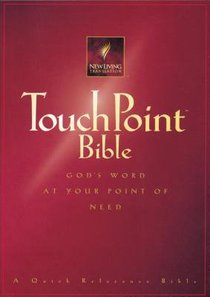 NLT Touch Point Bible Red (Black Letter Edition) (1st Ed.)