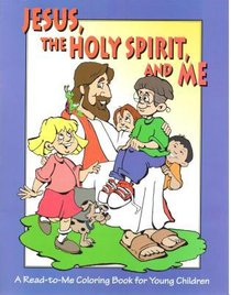 Jesus the Holy Spirit & Me Colouring Book Younger Children