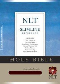 NLT Slimline Reference Burgundy (Red Letter Edition)